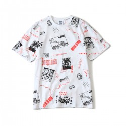 BILLIONAIRE BOYS CLUB HEADLINE PRINT T-SHIRT 18SPRING