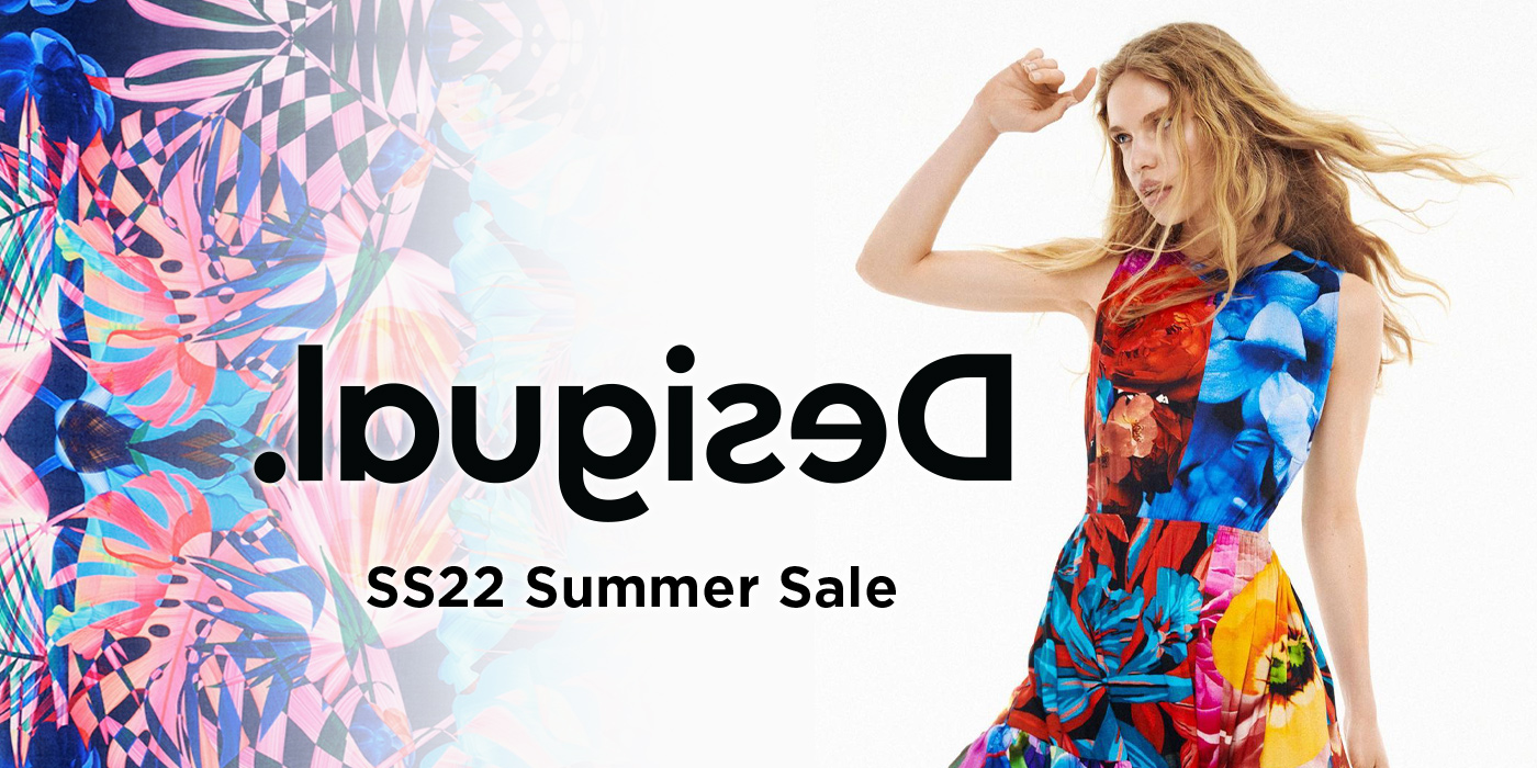 『Desigual 2020SS Summer Sale』 Max50%OFF